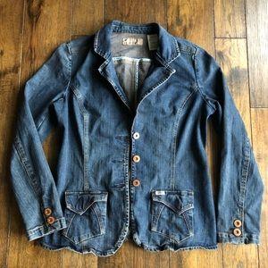 Levi's Signature Denim Jean Jacket 3 Button Fitted